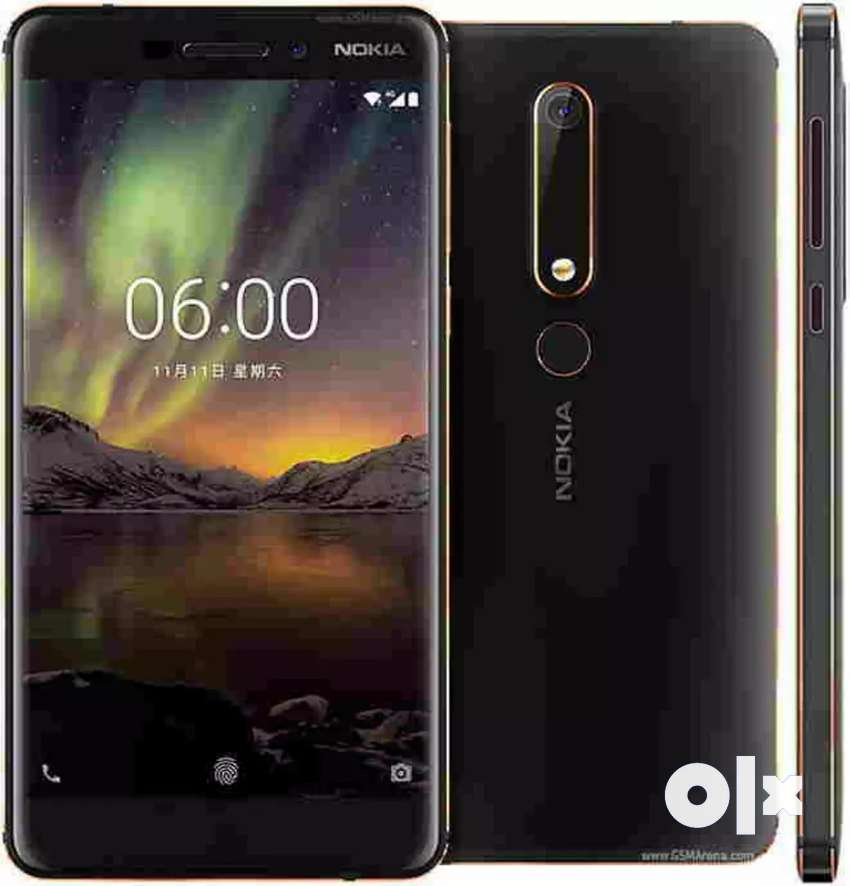 Nokia 6.1 very neatly use 4/64 no single scratch 0