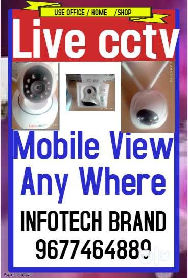 Wifi Ip Security Surveillance Rotating cctv camera 0