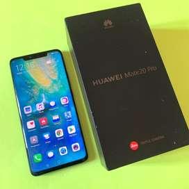 Huawei Mate 20 pro 6/128 Fullset Mulus Like New