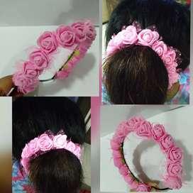 Flower Hair Brooch Handmade First Hand product