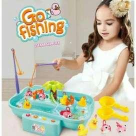 mainan anak laki laki mainan fishing mainan pancingan mainan edukasi -
