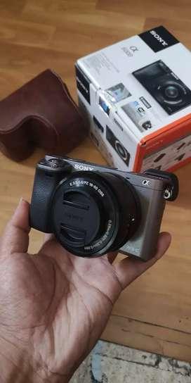 Sony a6000 like new sc seribuan
