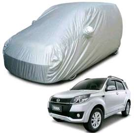 body cover mantel selimut sarung jubah mobil ready stock silver polos