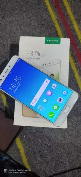 Oppo F3plus 1.4year Rs.9000