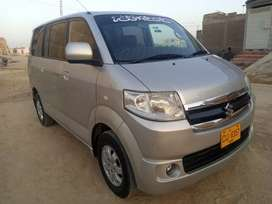 Suzuki APV VAN 7 Seaters Dual AC Model 2013/2014 Silver Almost Origin