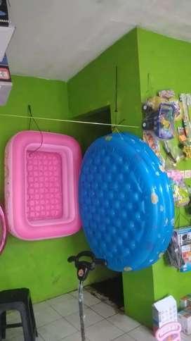 Kolam Balon Kotak Dan Bulat