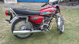 Honda 125 for sale RWP number