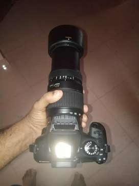 Canon 1300d with 300mm lense