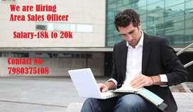 Urgently Needed Area Sales Officer @ Punjab