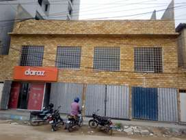 1st floor available for rent opposite AO CLINIC Nazimabad no3