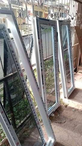 Kusen jendela dan pintu aluminium modern