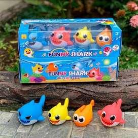 Funny family Shark Music Light 2019-15 Mainan Hiu musik lampu