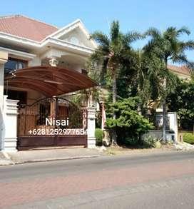 Rumah Siap Huni, Villa Sentral Raya Citraland Surabaya Barat.