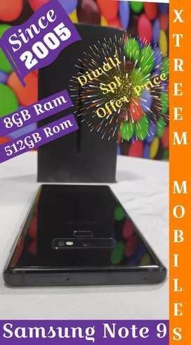 Samsung Note 9..