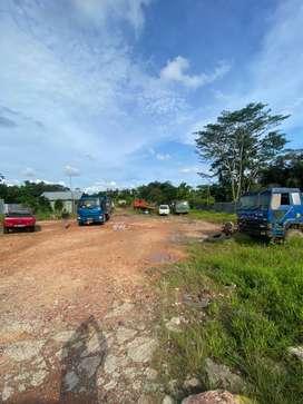 Disewakan dan dijual tanah strategis pinggir jalan