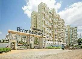 2 bhk for rent in River residency chikhli