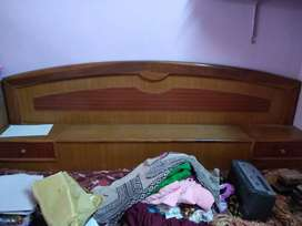 Double Bed (7 X 6) Feet With Mattress
