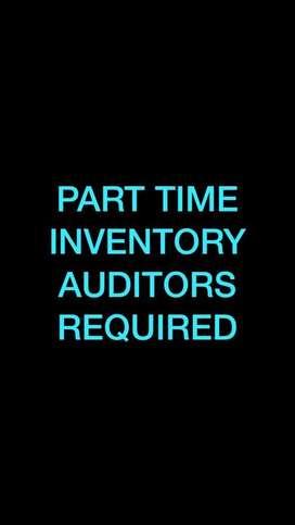 Part time inventory auditors: shivamoga