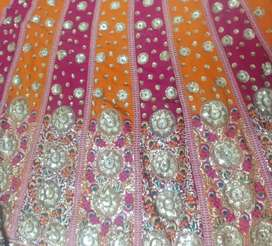A Beautiful Used lehnga Saree