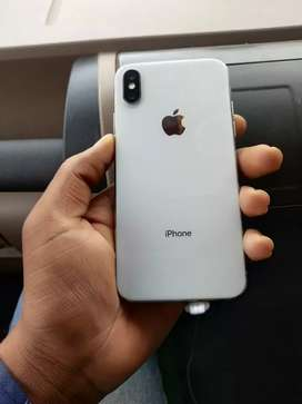 IPhone x 64 GB silver mein