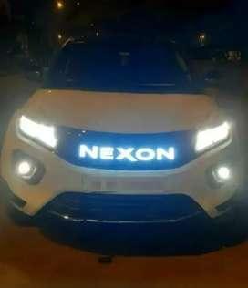 Tata Nexon led grill replacement type