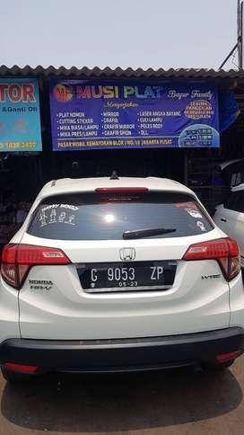 mica plat nomor untuk smua jenis mobil lampu non lampu