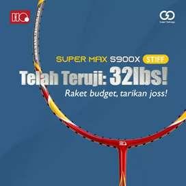 Raket Bulutangkis Badminton Hi-Qua super max 32 lbs ORI
