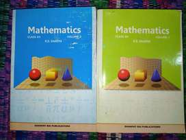 R.D Sharma Mathematics Vol. 1 and 2