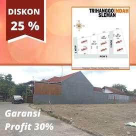 Tanah Strategis Dekat UGM ada Diskon 25% Plus Garansi Profit 30%