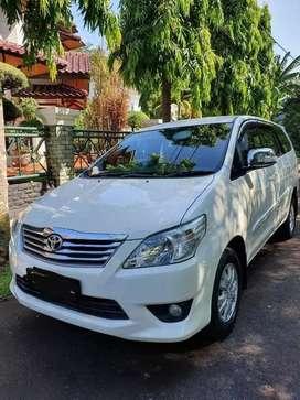 Dijual Toyota Innova G Manual 2012 Putih TIDAK BEKAS BANJIR BisaKredit