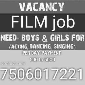 Vacancy for:Film job