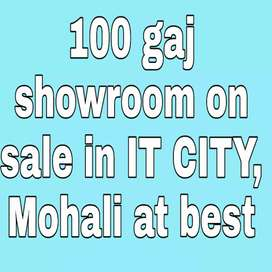 100 gaj showroom on sale in IT CITY, Mohali