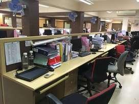 90 seaters furnished office on rent in vashi, navi mumbai