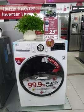 Mesin cuci LG 15kg bisa cicilan