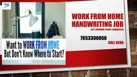 DATA ENTRY JOB--HANDWRITING JOB--WORK FROM HOME