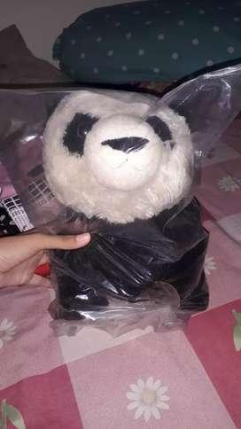 Dijual boneka panda second murah