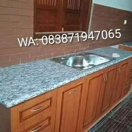 Top table granit/marmer dapur dll
