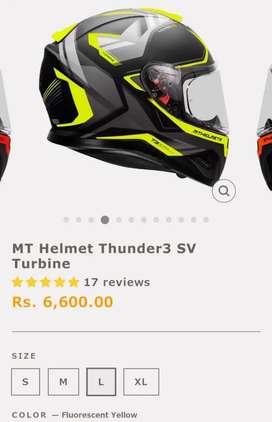 MT Helmet Thunder 3 Size L