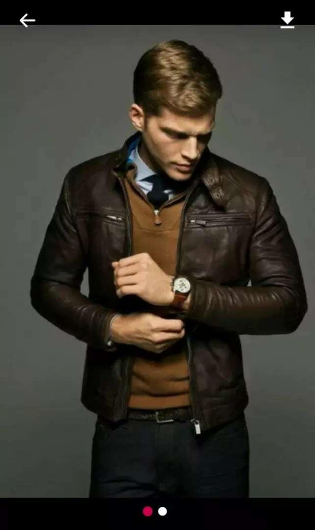 Jaket kulit domba asli dari garut 0