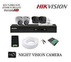 4CH HD CCTV Camera setup installation-