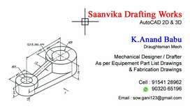 Autocad drawing (Draughtsman)