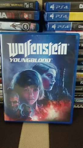 Wolfenstein youngblood ps4 fps petualangan adventure murah mulus ori