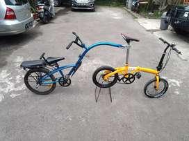 Sepeda Tandem Lipat