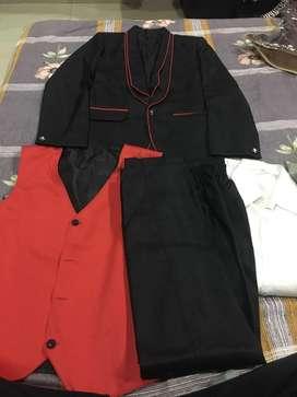Four piece suit