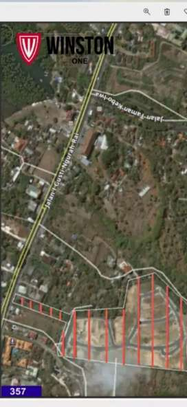 Tanah 3.8 HA lokasi strategis