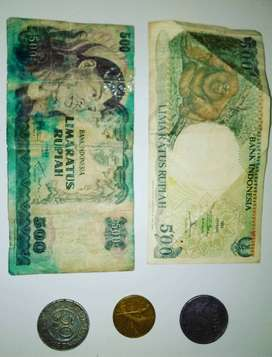 Uang kertas & koin