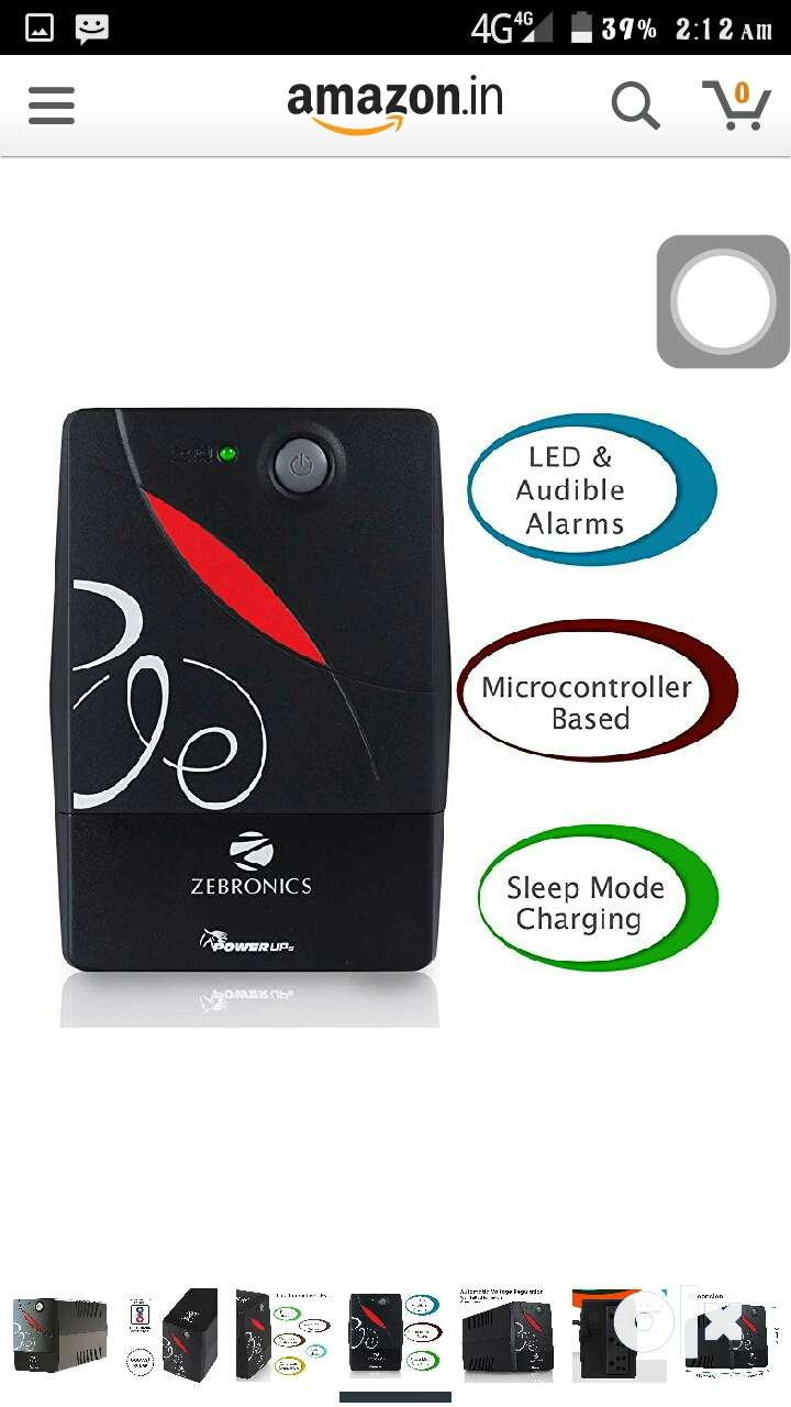 Brand new Zebronics Ups for SALE 0