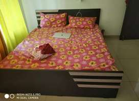 Branded mattress and queen size bed