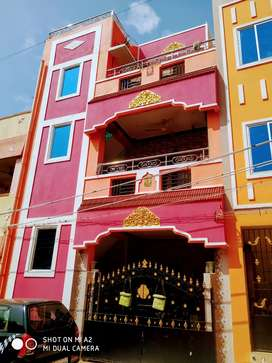 2BHK, HOUSE FOR LEASE - 6 Lakhs, 800 Sq ft Ground floor available