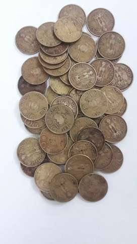 Old indian coins ( 25 nos )